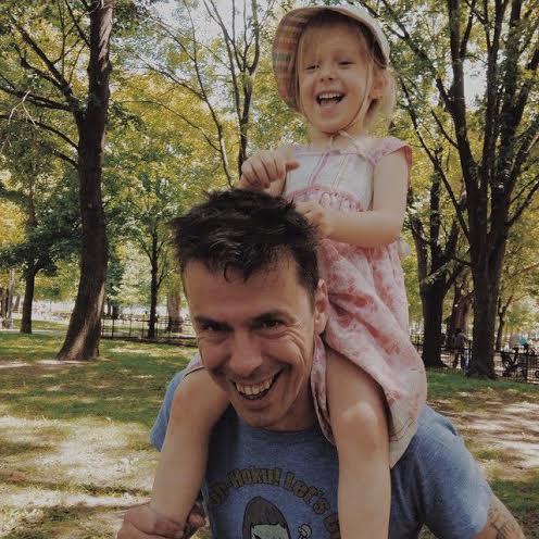 justin&daughter